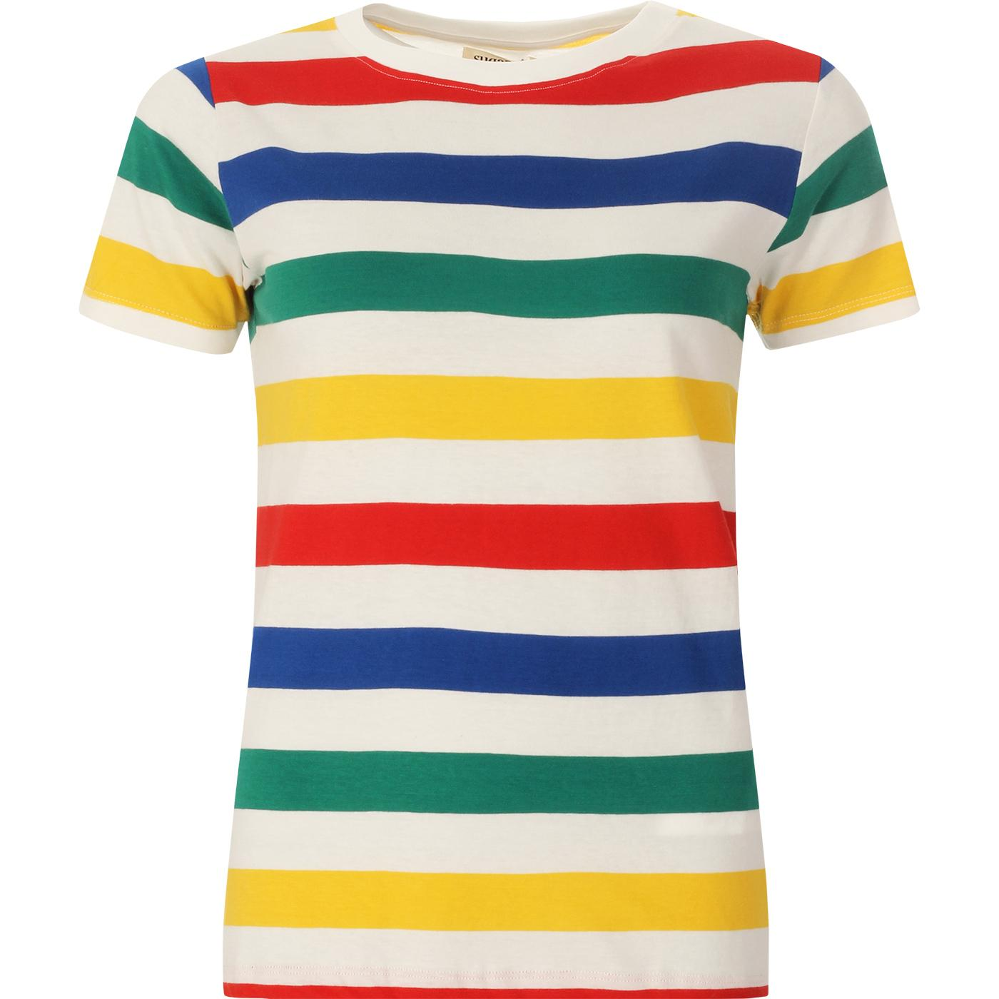 Maggie SUGARHILL BRIGHTON Retro Surf Stripe Tee