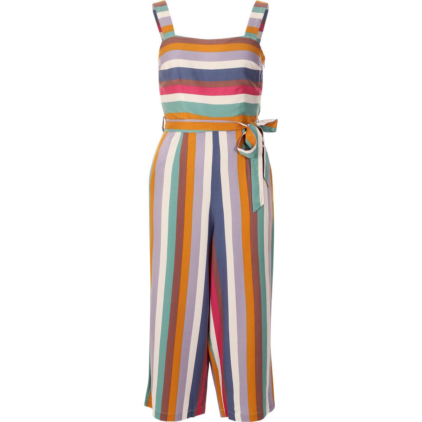 Millie SUGARHILL Cruise Stripe Culotte Jumpsuit