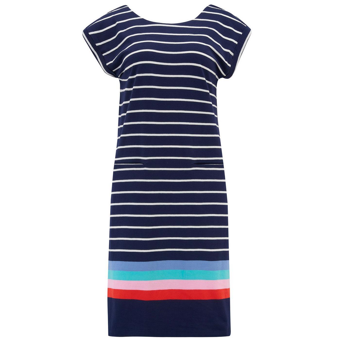 Odette SUGARHILL BRIGHTON Retro 70s T-Shirt Dress