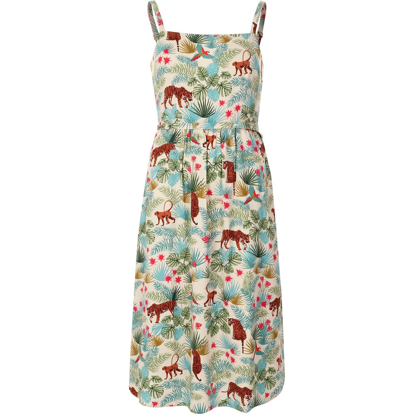 Tallulah SUGARHILL BRIGHTON Retro Jungle Sun Dress