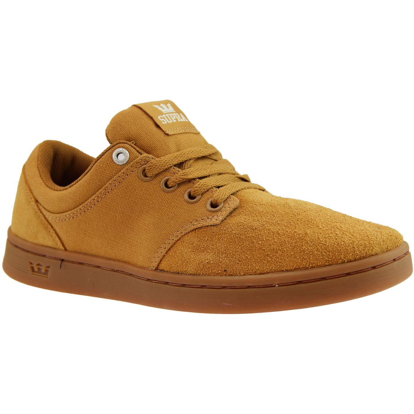 Chino Court SUPRA Retro Low Top Skate Trainers T/G