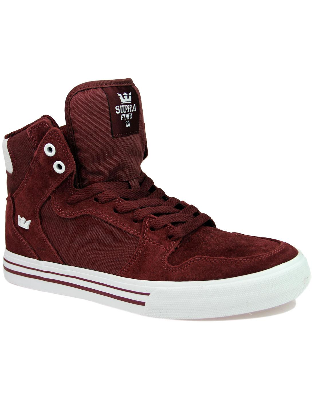 Vaider SUPRA Retro 90s Hi Top Board Trainers (A/W)