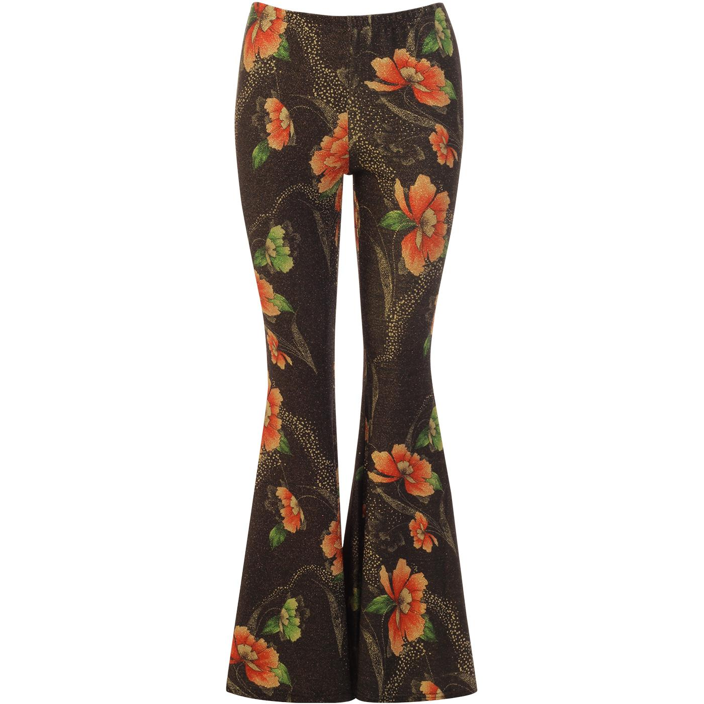 Flaunt And Flare TRAFFIC PEOPLE Floral Trousers