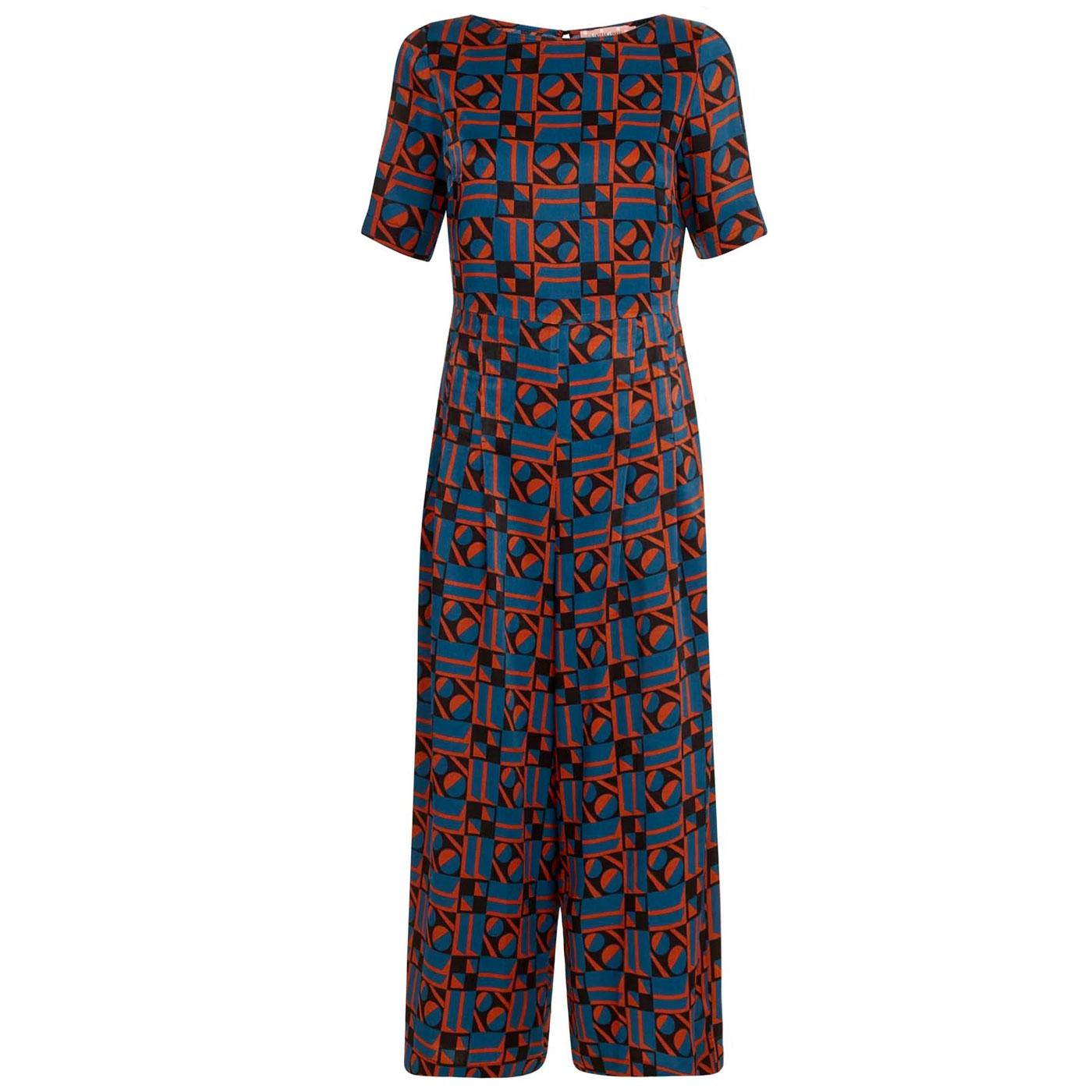 Bianca TRAFFIC PEOPLE 1960's Retro Jumpsuit