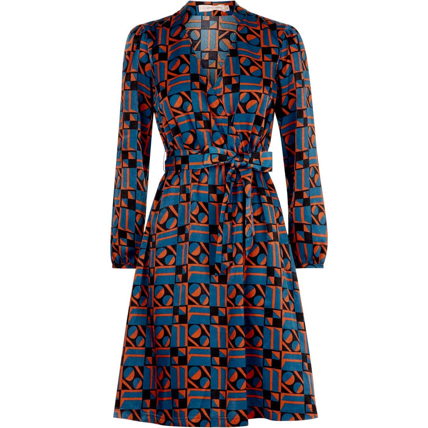 Definitely TRAFFIC PEOPLE Geometric Pinball Dress