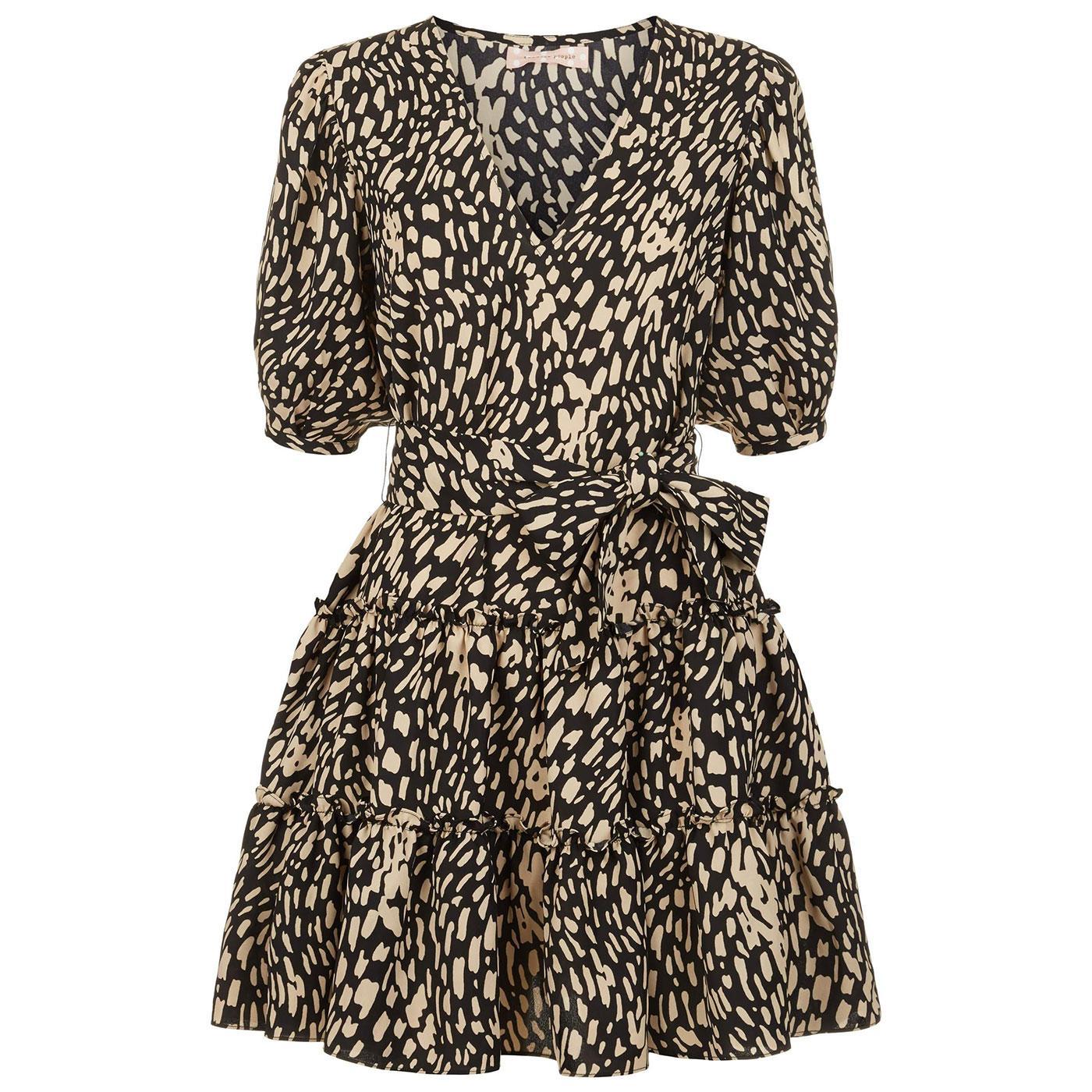 Felicitous TRAFFIC PEOPLE Polka Dot Mini Dress