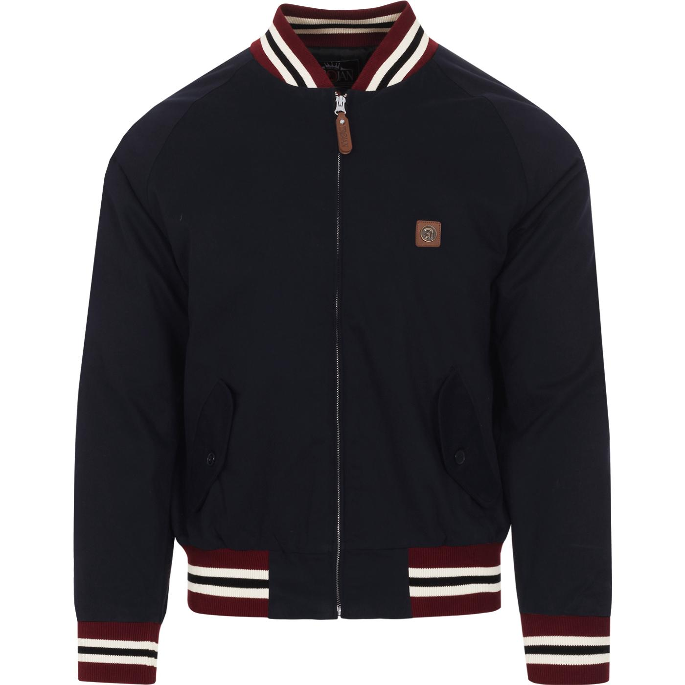 TROJAN RECORDS Classic Mod Monkey Jacket (Navy)