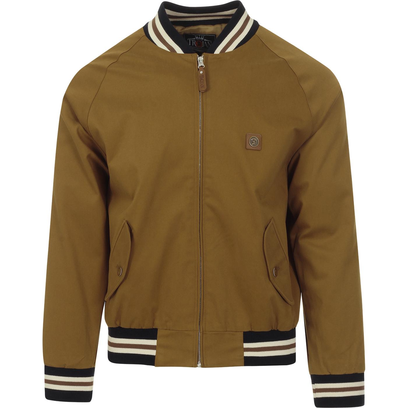 TROJAN RECORDS Classic Mod Monkey Jacket (Tan)