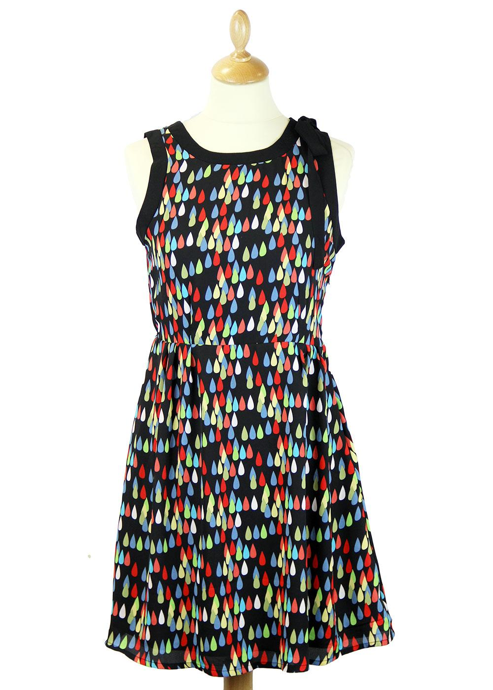 TULLE Retro 60s Raindrop Dress with Flared Skirt