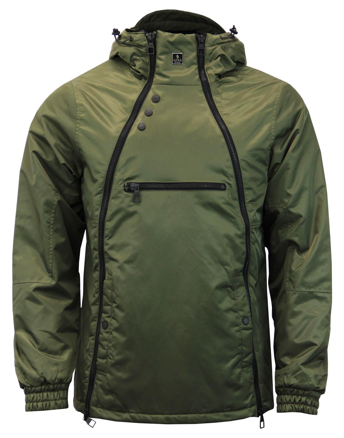 Turvey LUKE 1977 Men's Double Zip Technical Jacket