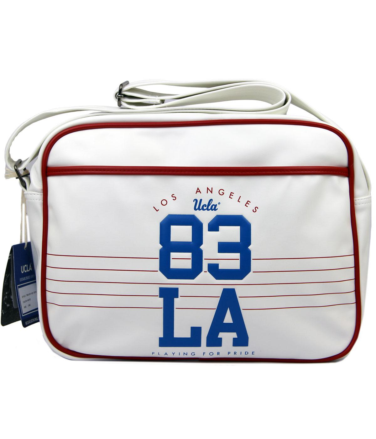 Trevor UCLA Retro 80s Indie Varsity Shoulder Bag W