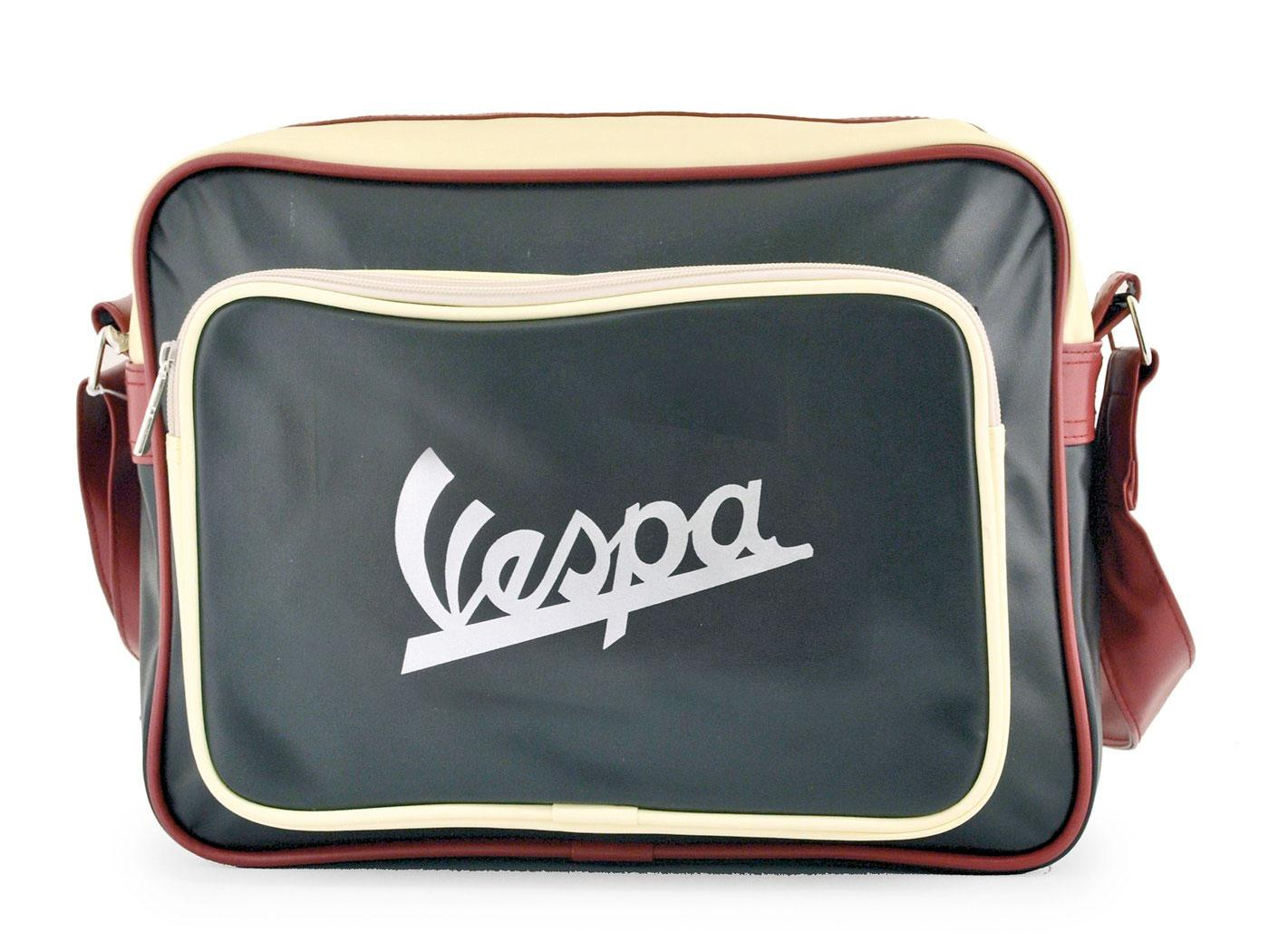 VESPA Retro Mod 60s Scooter Logo Shoulder Bag