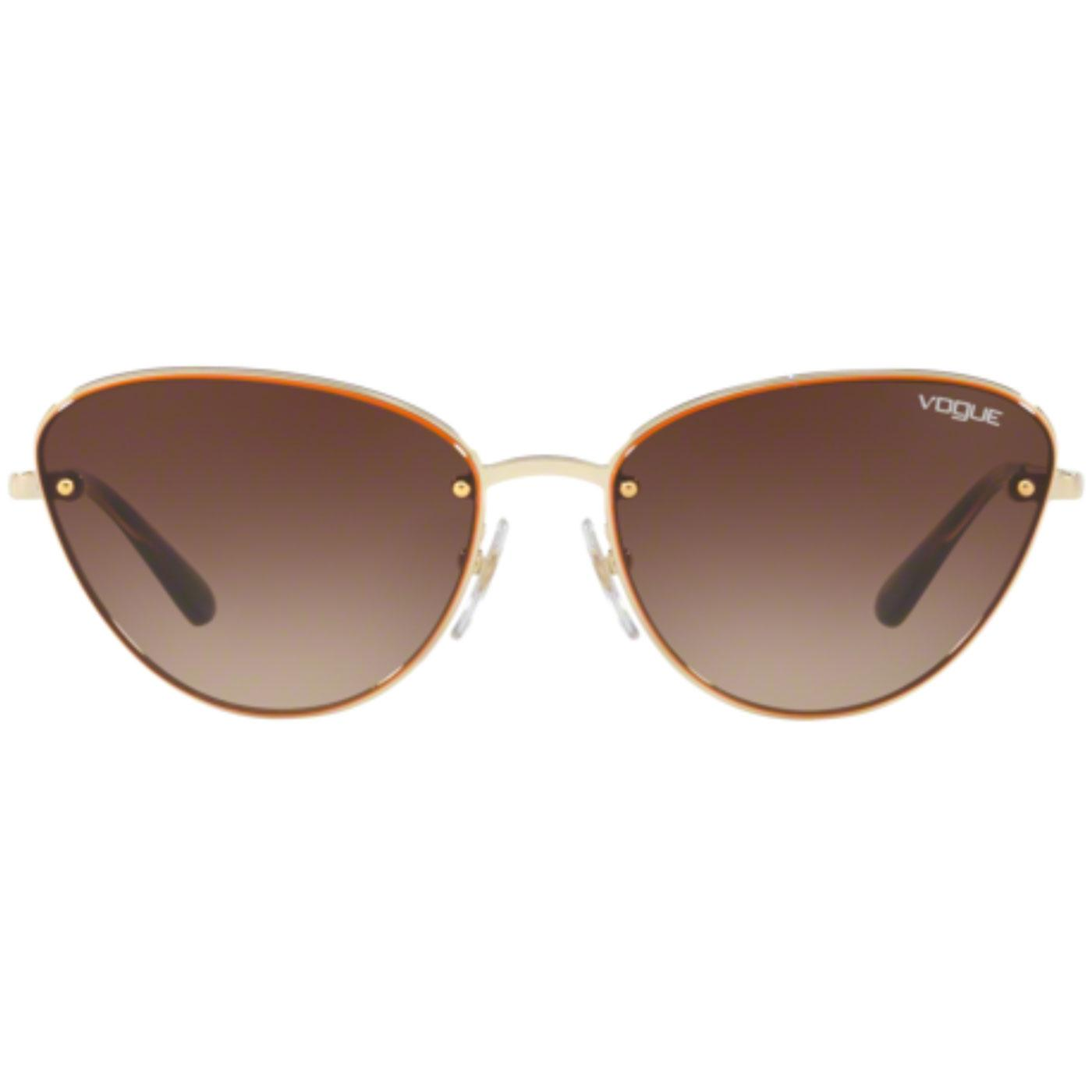 VOGUE Retro 60s Flat Front Cats-Eye Sunglasses O