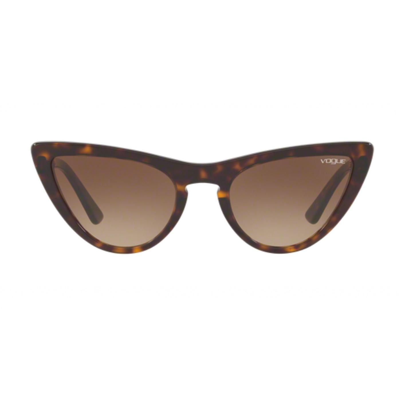 VOGUE Gigi Hadid Retro Catseye Sunglasses - Brown