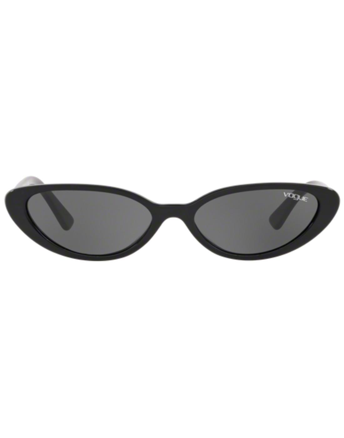VOGUE Gigi Hadid Retro 50s Cats-eye Sunglasses Blk