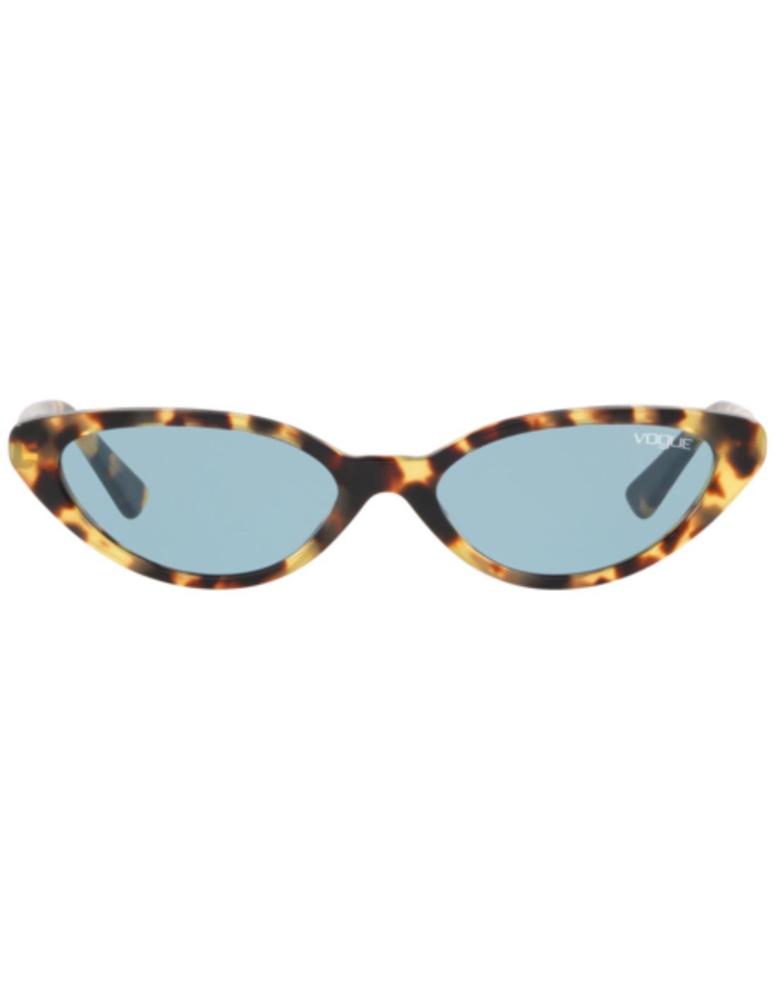 VOGUE Gigi Hadid Retro 50s Catseye Sunglasses Blue
