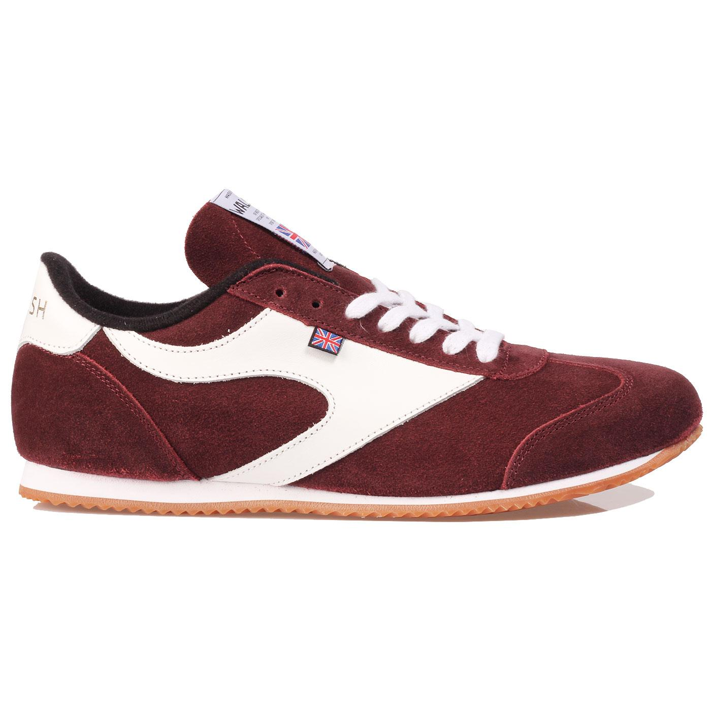 Attack WALSH Made In England Suede Trainers Bu