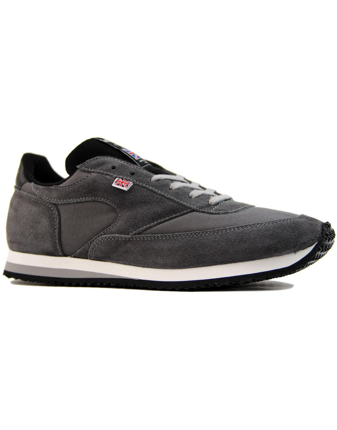 LA 84 WALSH Made in England Retro Trainers (G/B)