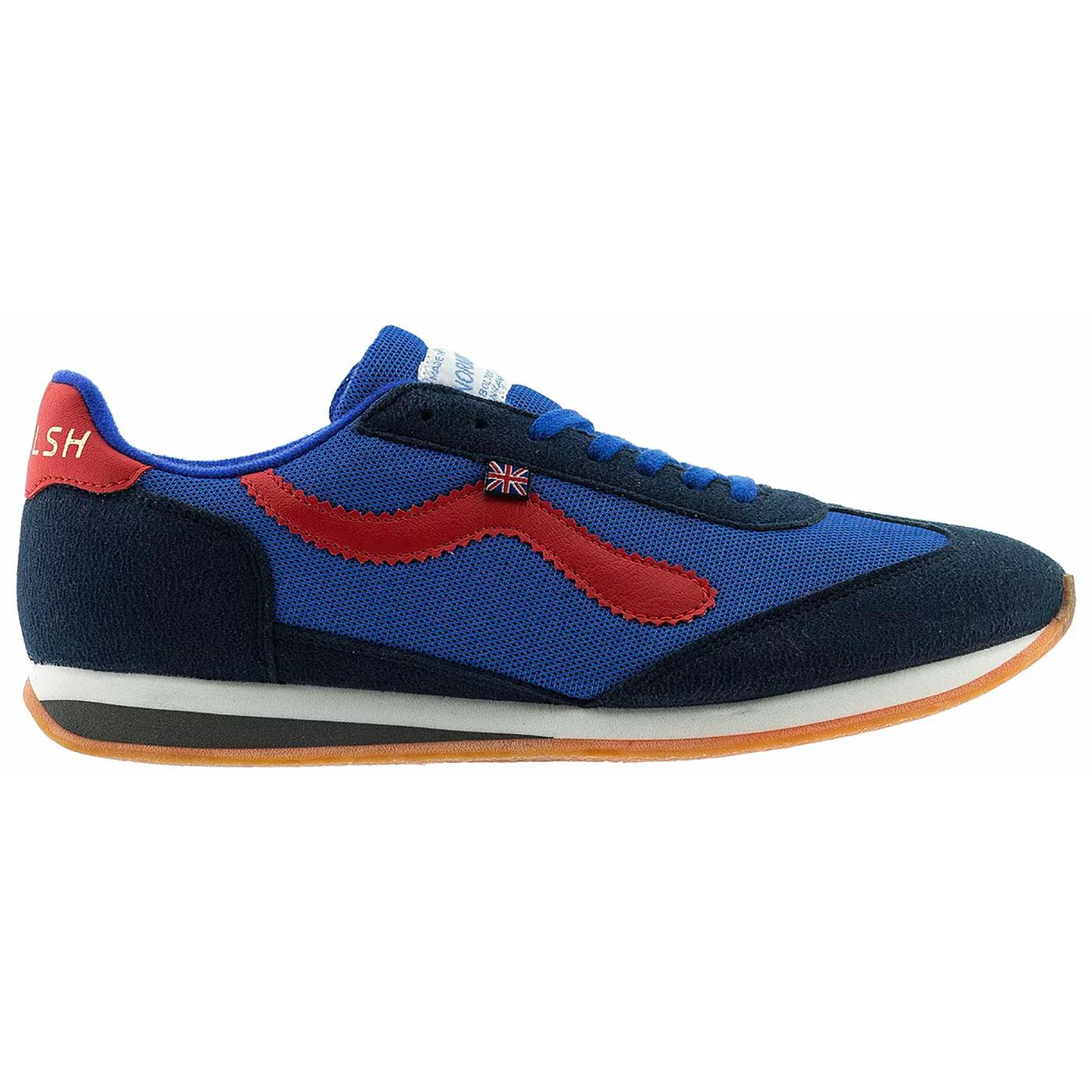 Fierce WALSH Made in England 70s Trainers (B/R)