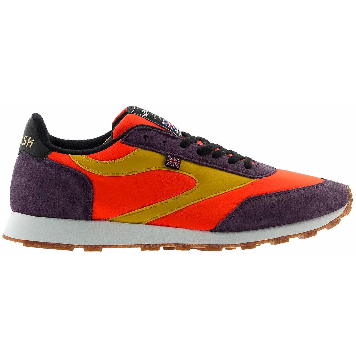 Horwich WALSH Made in England Retro Trainers O/P/Y