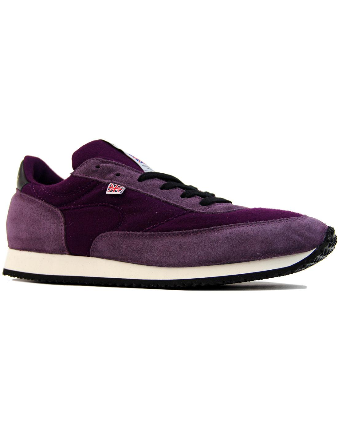 LA 84 Hainsworth WALSH Made in England Trainers