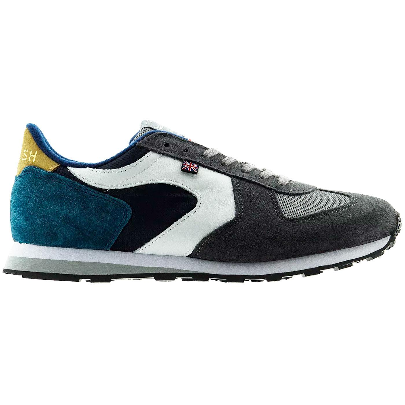 New Glory WALSH Made in England 80s Trainers (N/G)