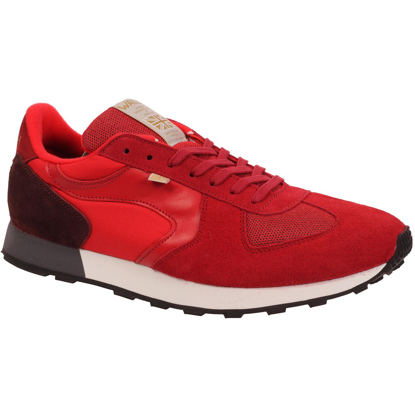 New Glory WALSH Made in England Retro Trainers DR