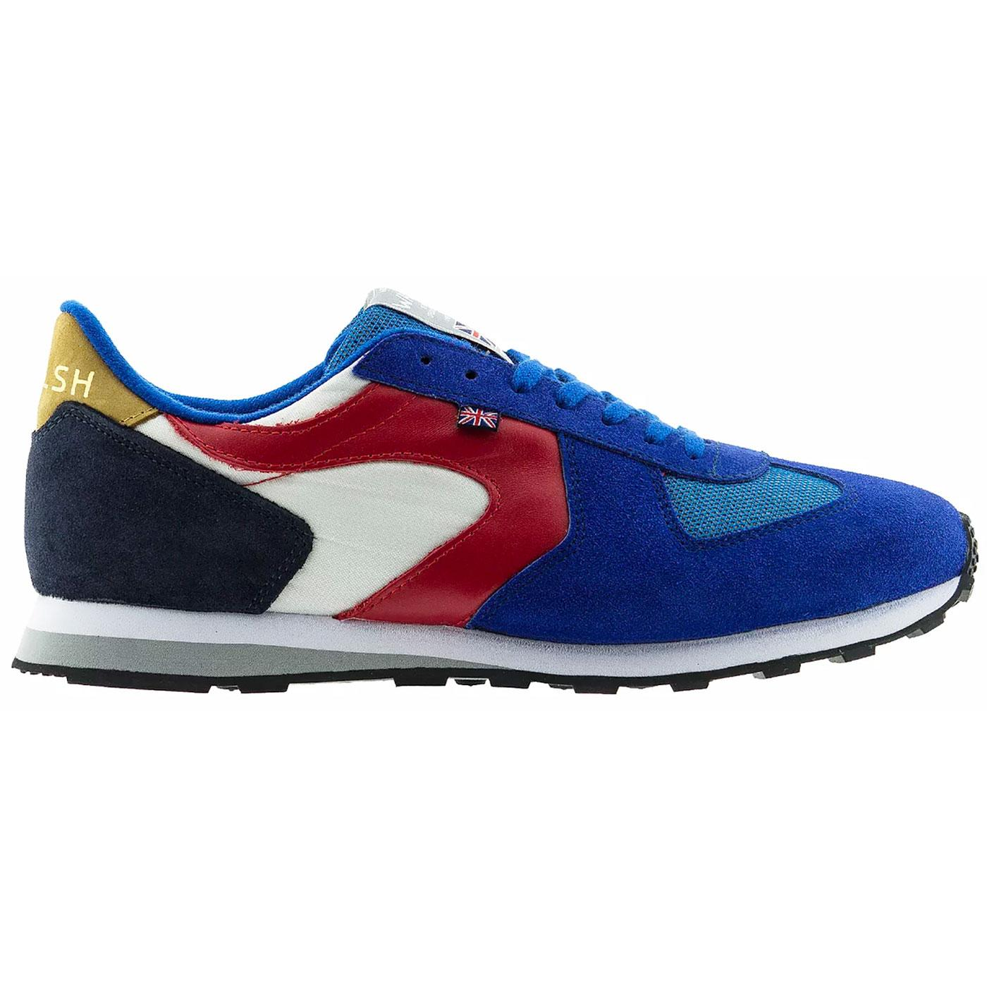 New Glory WALSH Made in England 80s Trainers (WBR)