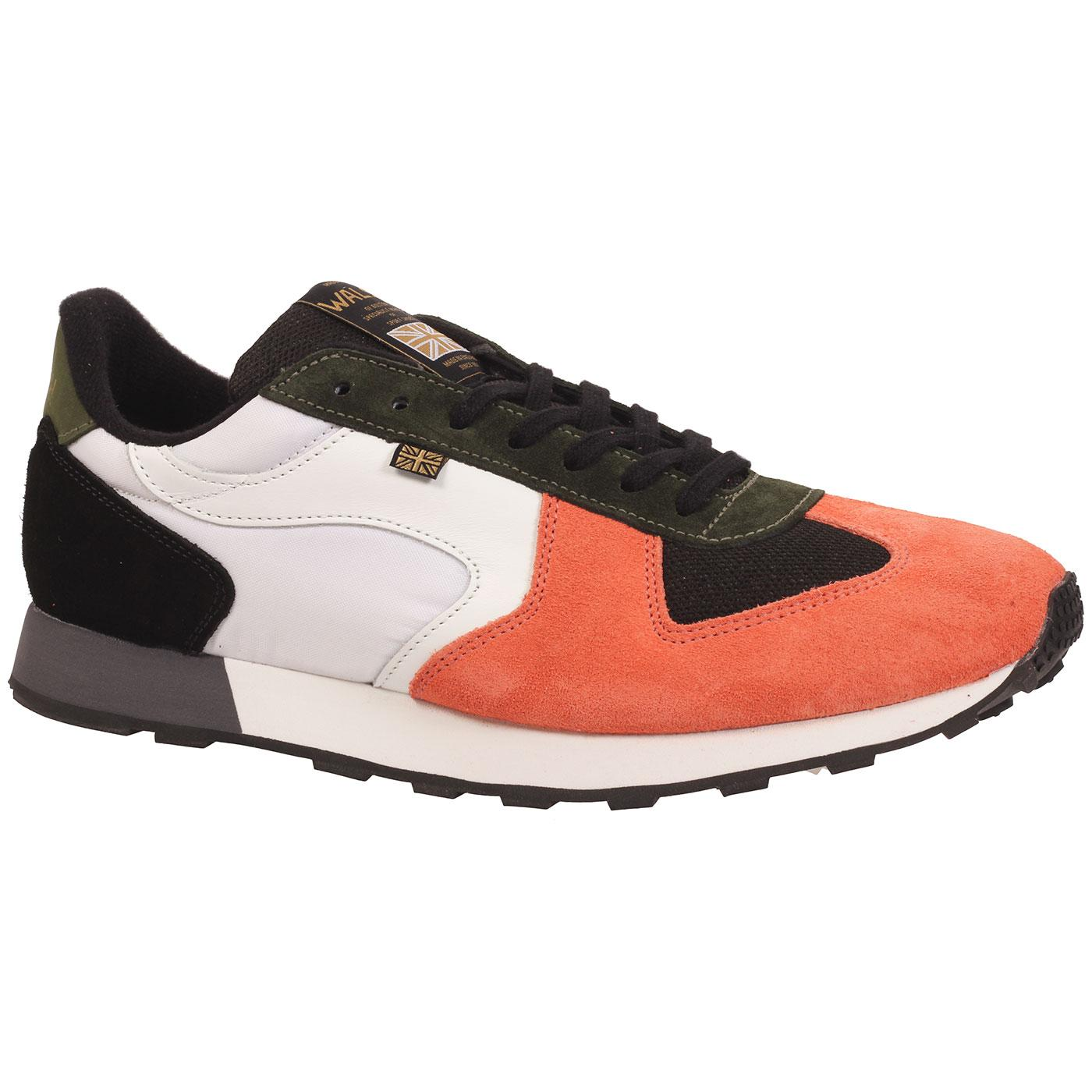 New Glory WALSH Made in England Retro Trainers (S)