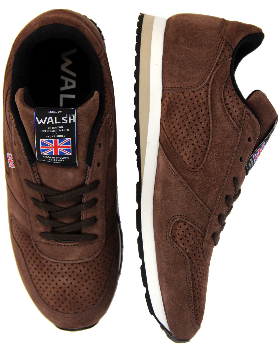 Seoul '88 WALSH Made In England Retro 80s Trainers