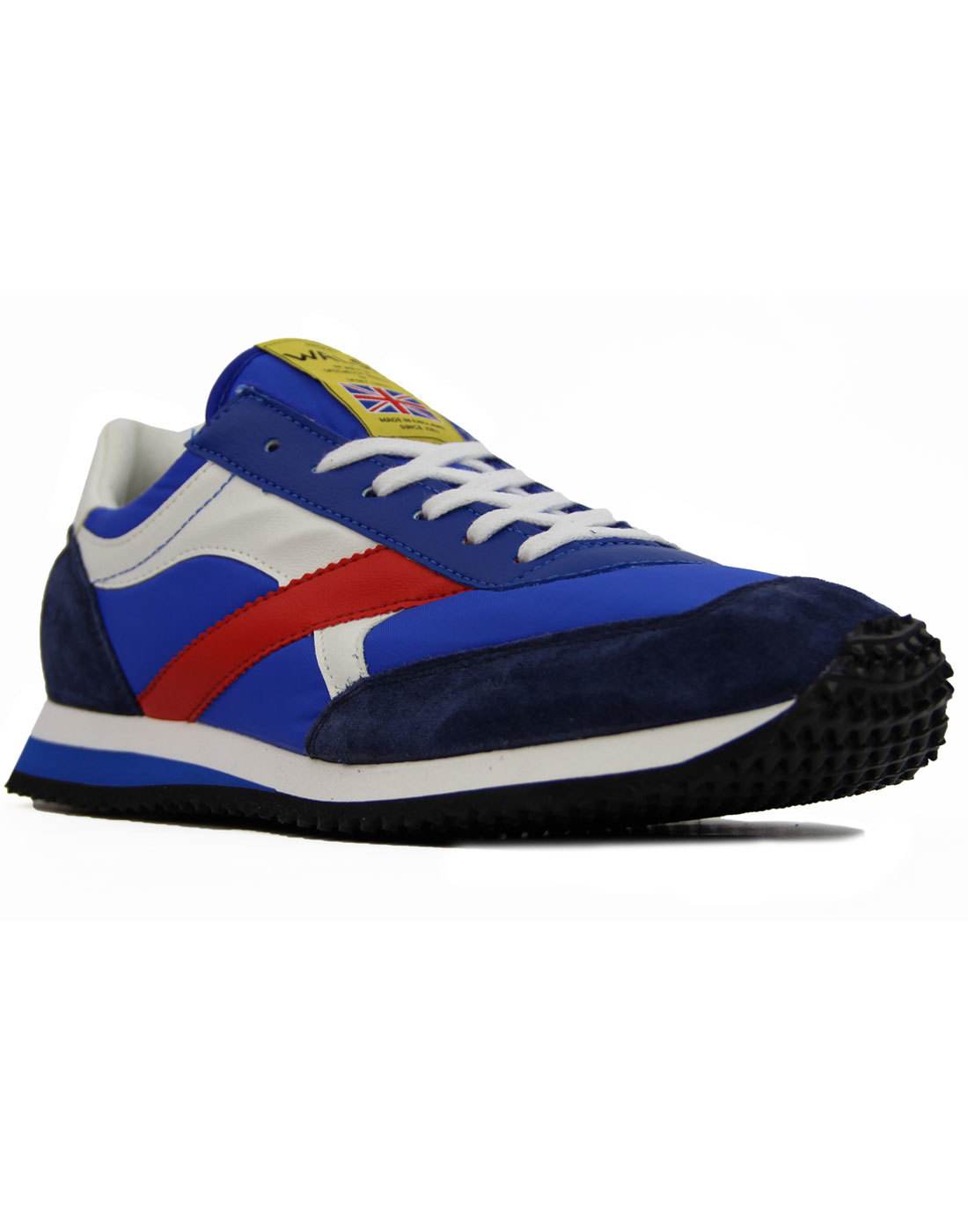 Tornado WALSH Made In England Retro Trainers BLUE