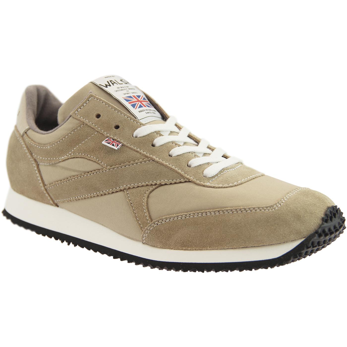 Tornado WALSH Made in England Retro Trainers SAND