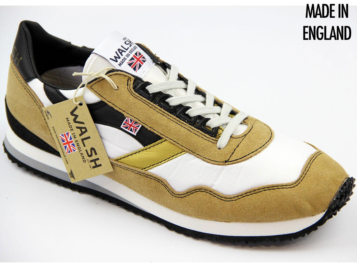 Ensign NORMAN WALSH Made In England Trainers (WTG)