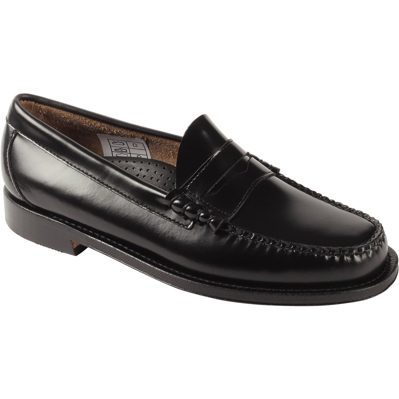 Heritage Larson BASS WEEJUNS Penny Loafers (Black)
