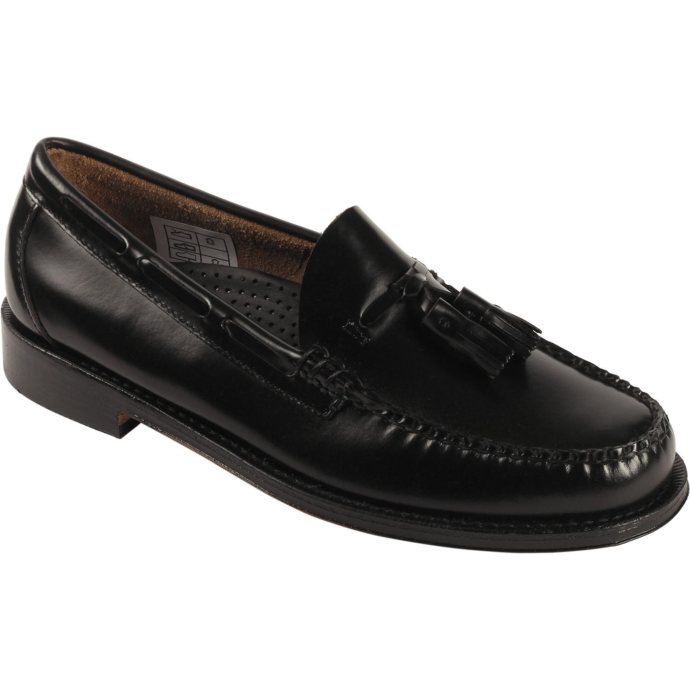 Heritage Larkin BASS WEEJUNS Tassel Loafers BLACK