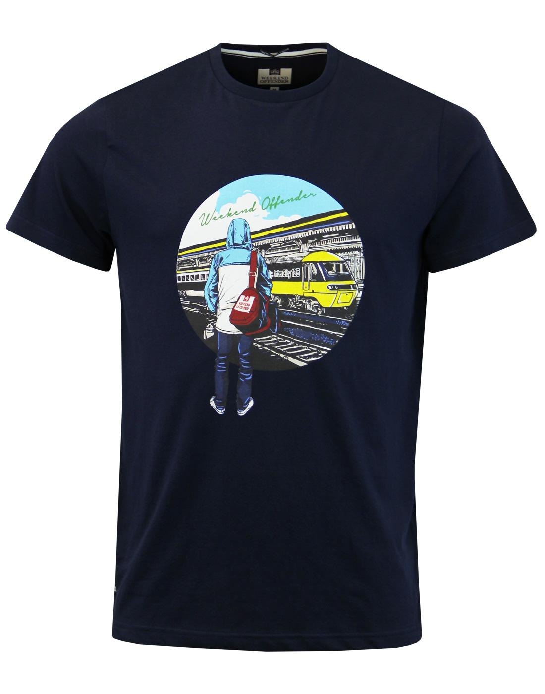Away Days WEEKEND OFFENDER Casuals Football Tee