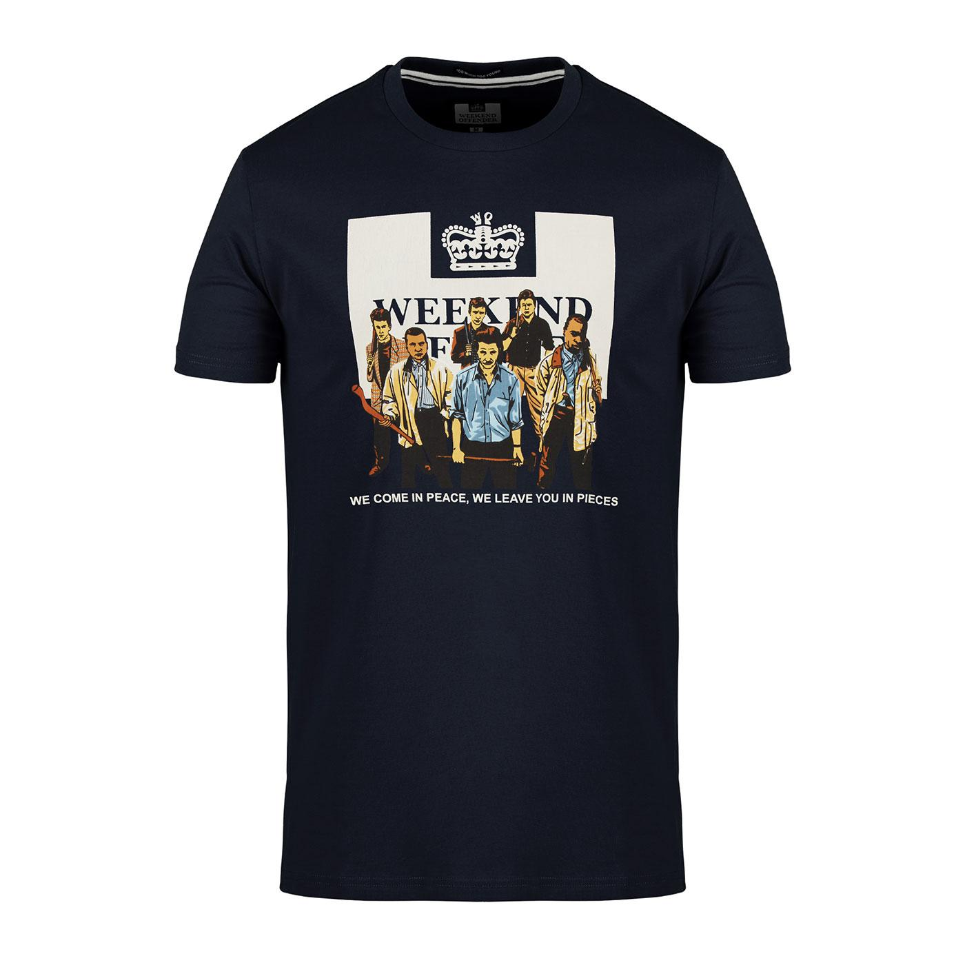 '89 WEEKEND OFFENDER The Firm Casuals Logo T-Shirt
