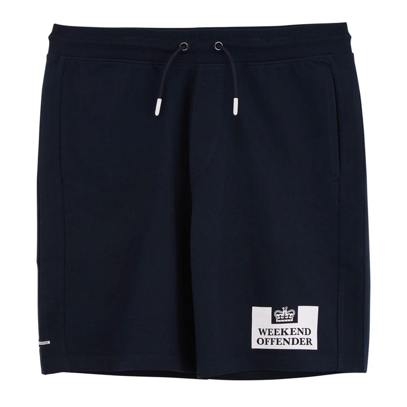 Action WEEKEND OFFENDER Logo Jersey Shorts NAVY