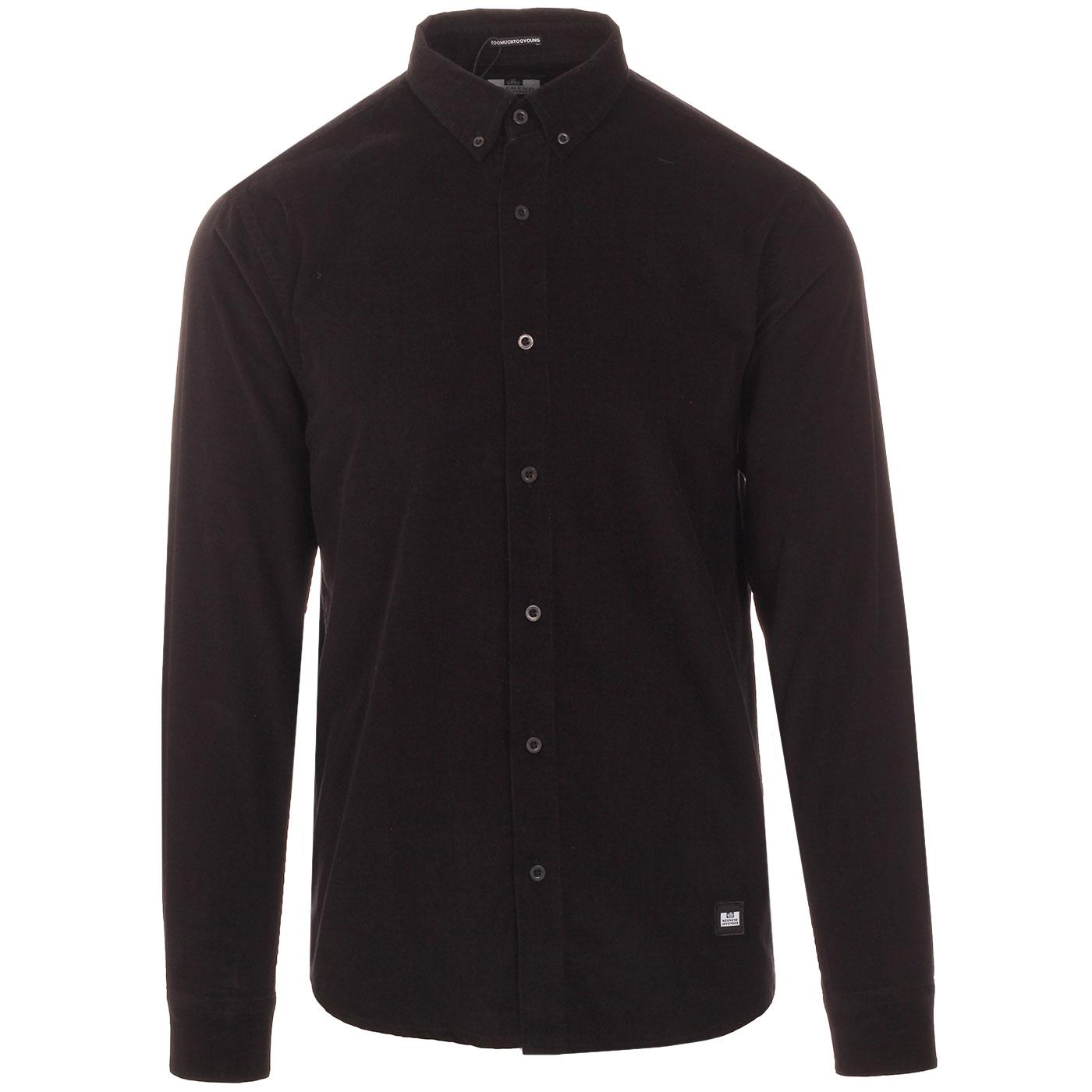 Belem WEEKEND OFFENDER Retro Mod Cord BD Shirt (B)