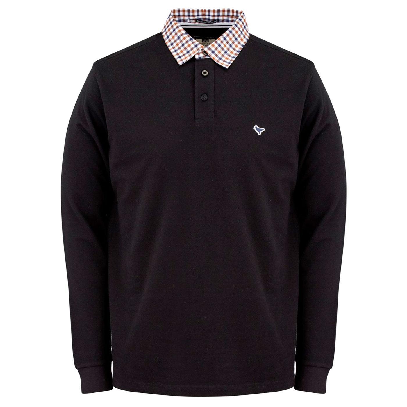 Bentvena WEEKEND OFFENDER L/S Shirting Collar Polo