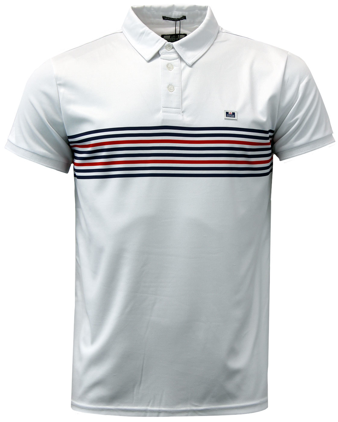 Bollo WEEKEND OFFENDER Retro Casuals Stripe Polo