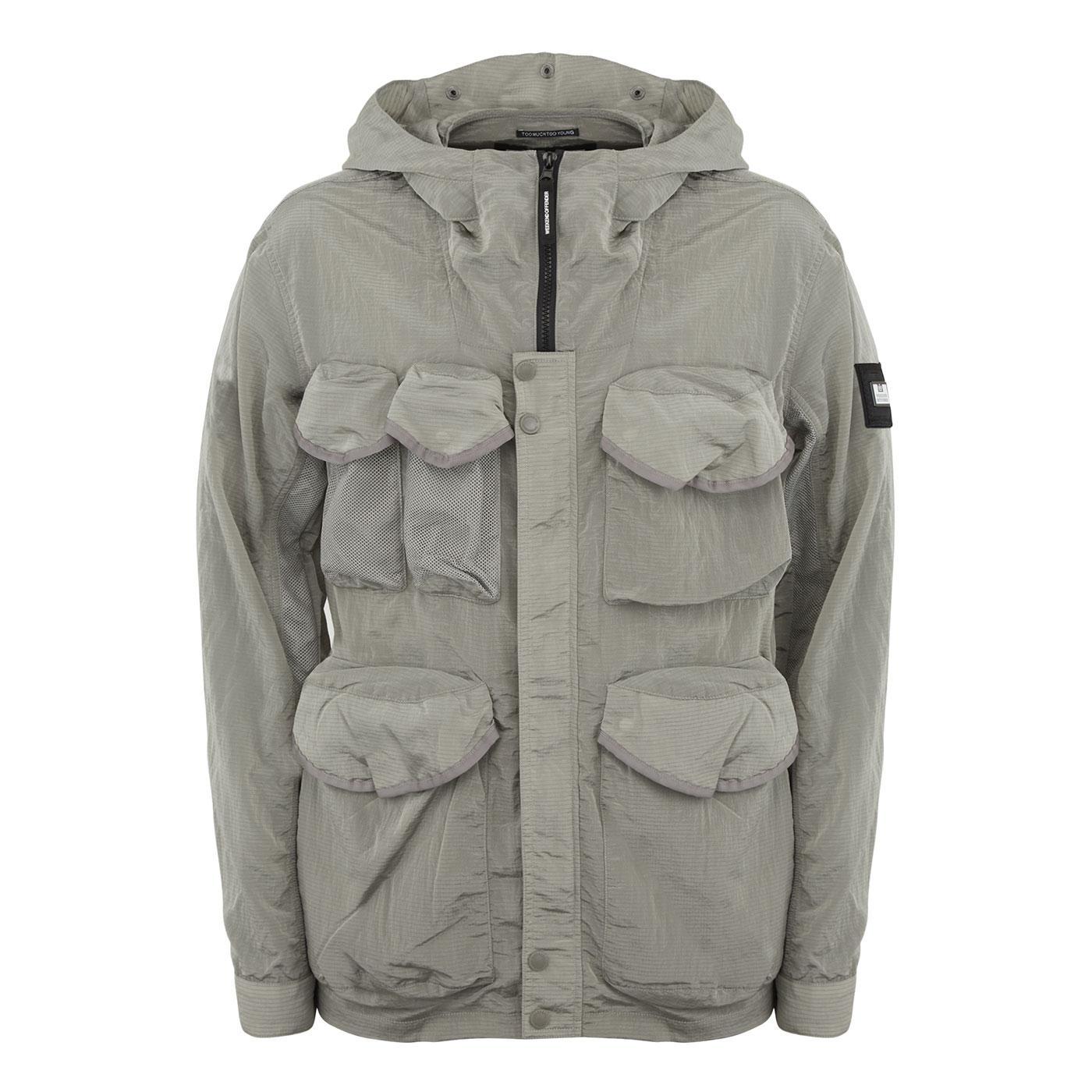 Cotoca WEEKEND OFFENDER Hooded Field Jacket (BS)