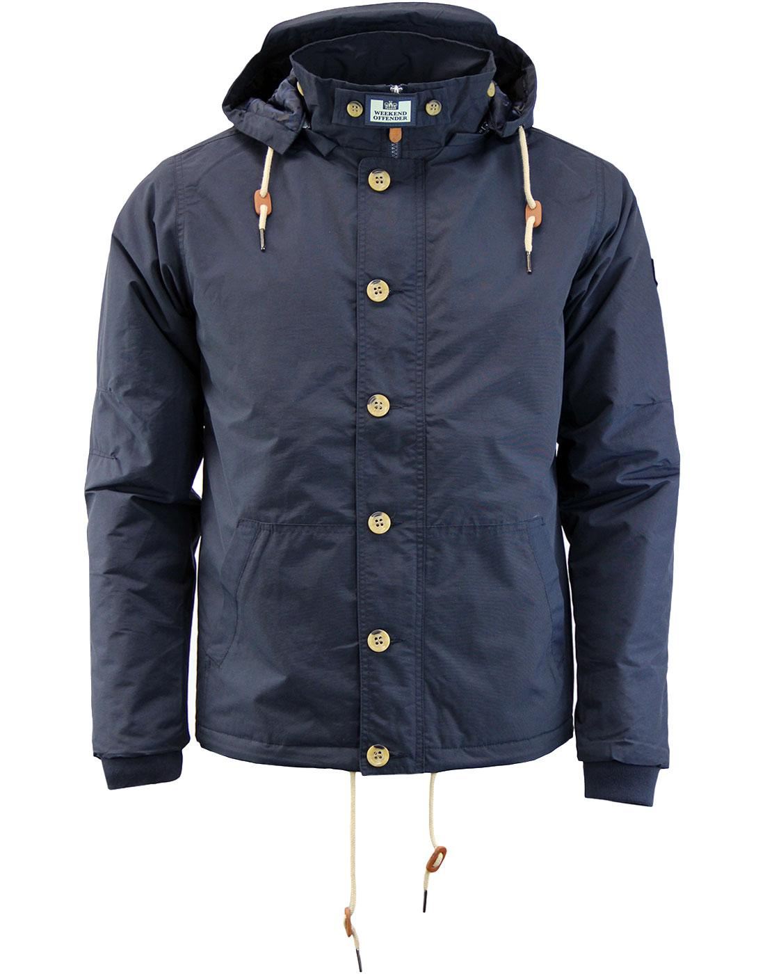 Damon WEEKEND OFFENDER Retro Funnel Neck Jacket