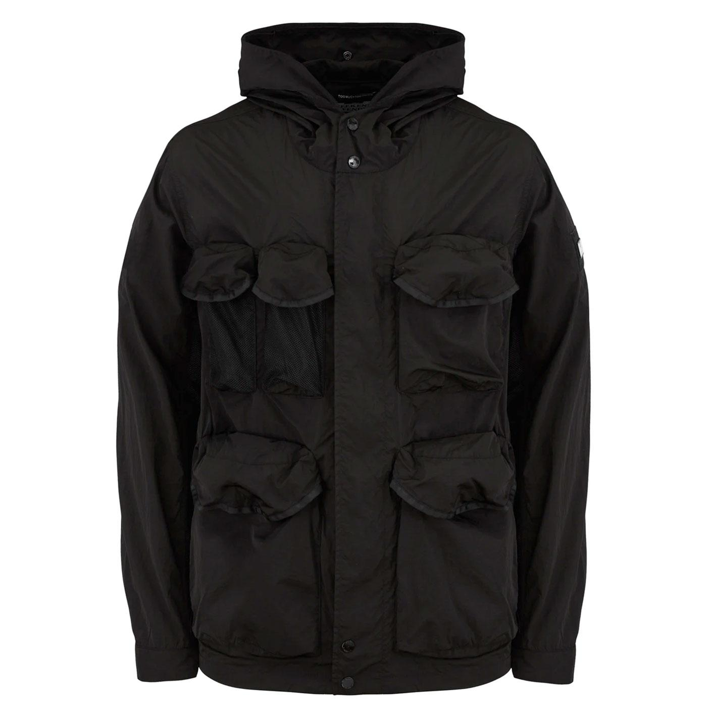 Devito WEEKEND OFFENDER Hooded Military Jacket B