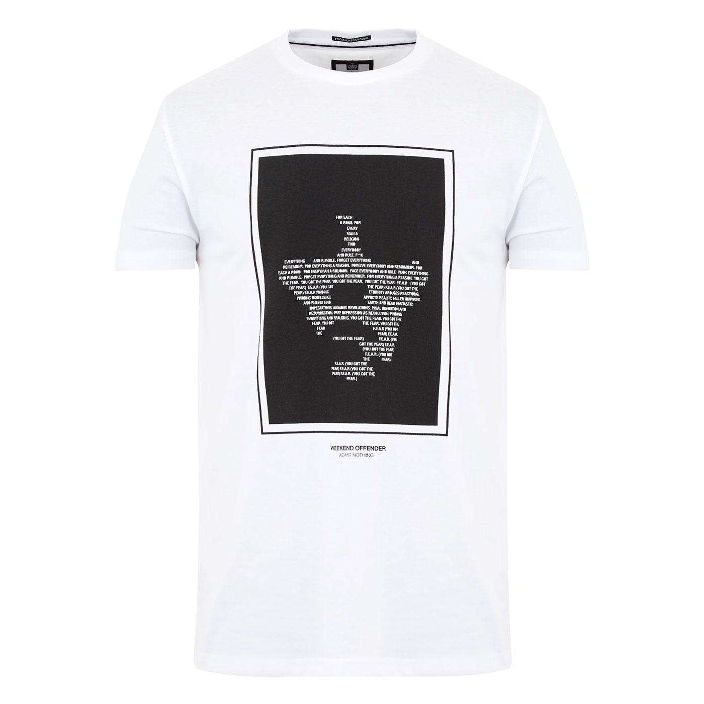 F.E.A.R. WEEKEND OFFENDER Ian Brown Lyric T-Shirt