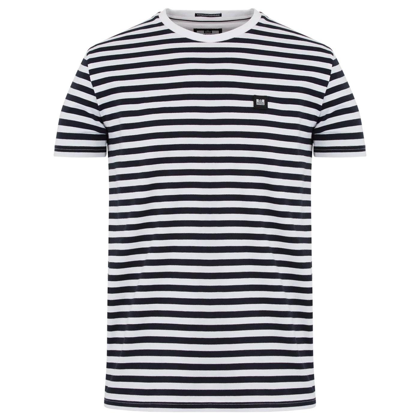 Flamenco WEEKEND OFFENDER Retro Stripe Tee (N)