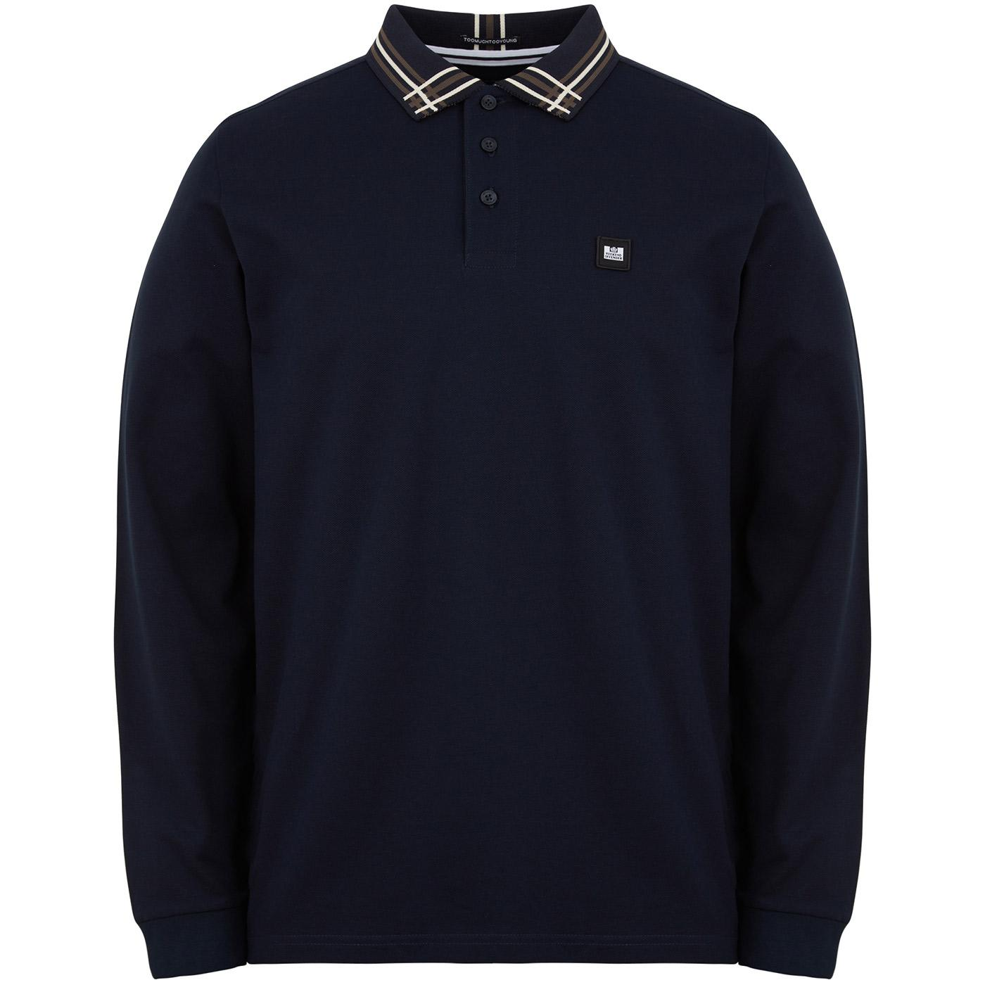 Khabib WEEKEND OFFENDER Abstract Tipped LS Polo N