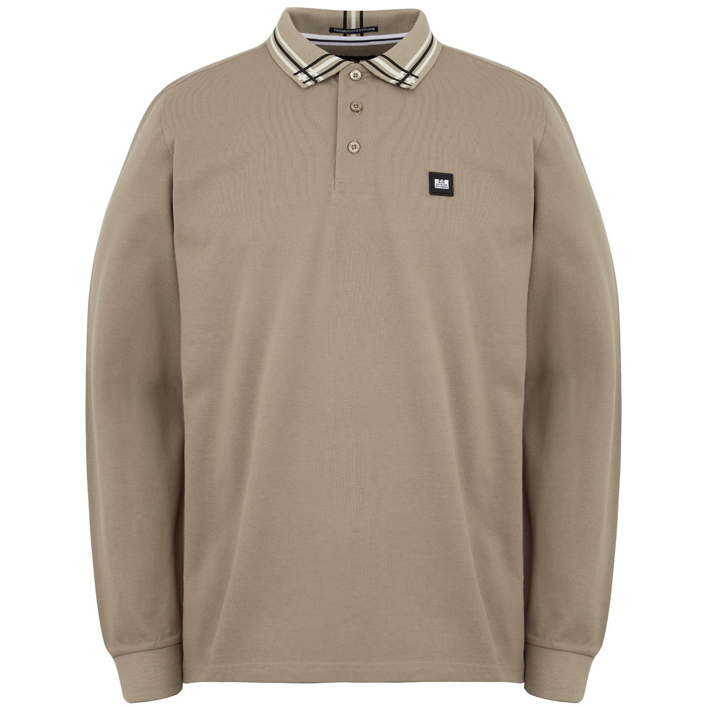 Khabib WEEKEND OFFENDER Abstract Tipped LS Polo P