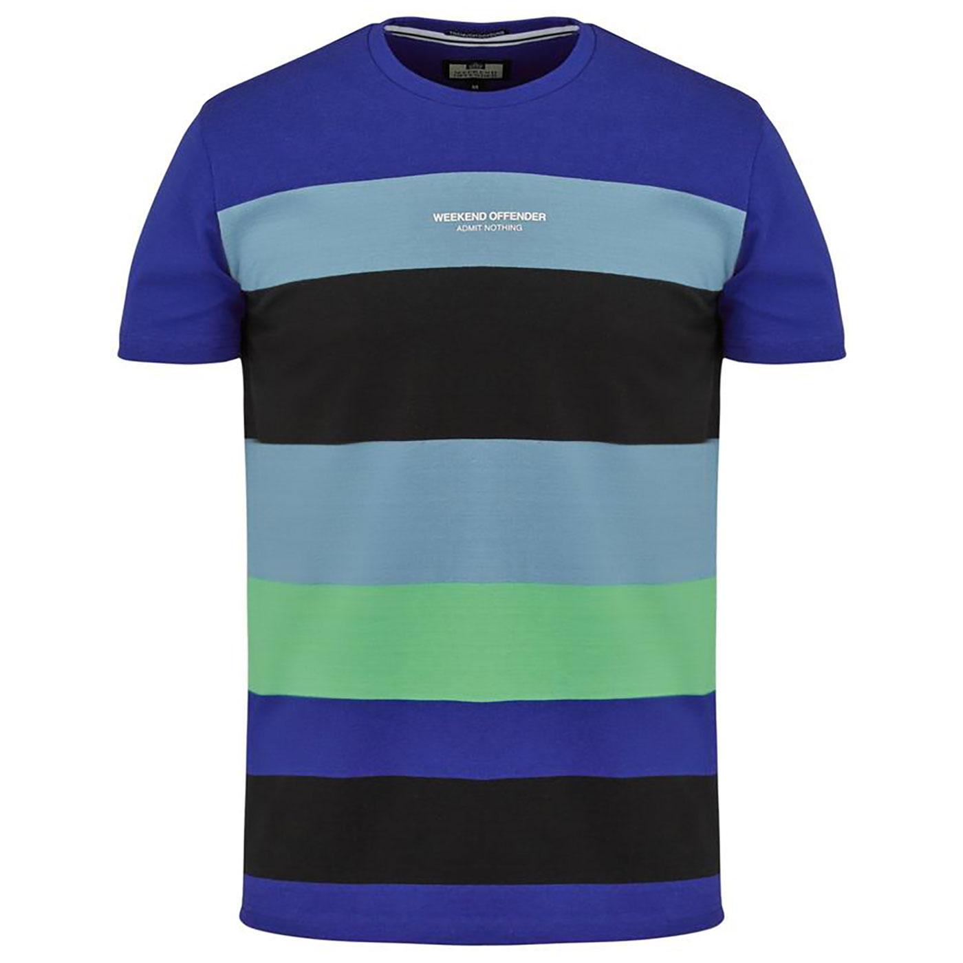 Little Italy WEEKEND OFFENDER Bold Stripe T-Shirt