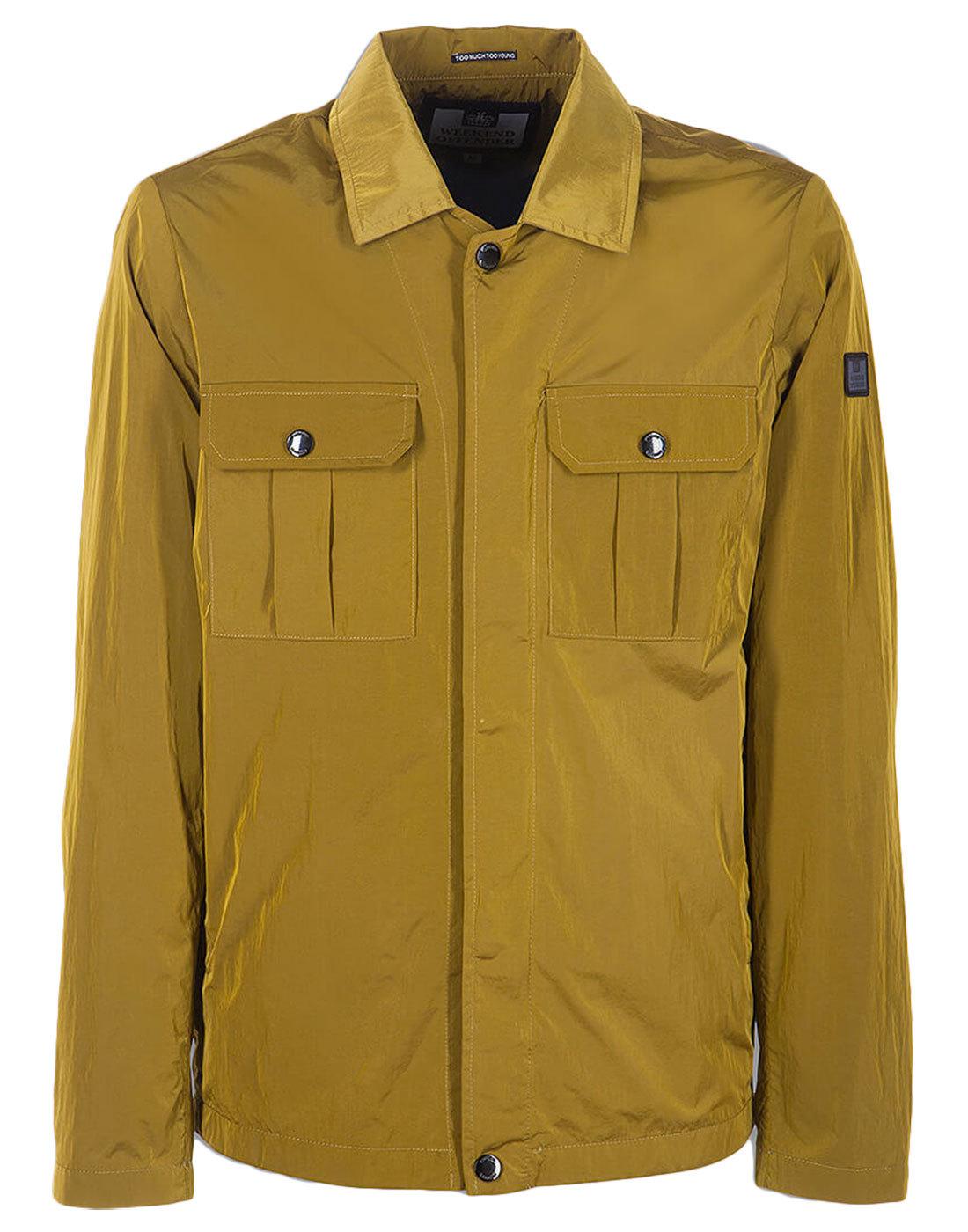 Modernista WEEKEND OFFENDER Mod Shirt-Jacket Ochre
